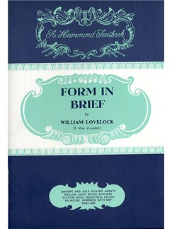 William Lovelock: Form In Brief Books | All Instruments