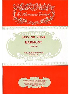 William Lovelock: Second Year Harmony Books | Voice