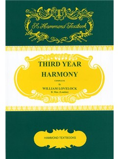 William Lovelock: Third Year Harmony Books |