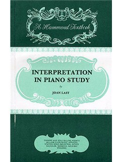 Joan Last: Interpretation In Piano Study Books | Piano