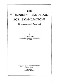 The Violinist's Handbook For Examinations Books   Violin