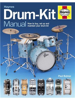 Paul Balmer: Haynes Drum-Kit Manual Books | Drums