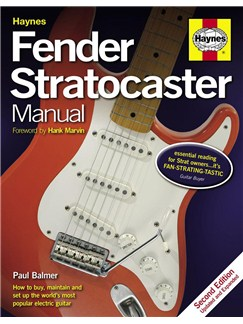 Paul Balmer: Haynes Fender Stratocaster Manual (2nd Edition) Books | Electric Guitar