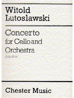 Witold Lutoslawski: Concerto For Cello And Orchestra (Solo Part) Books | Cello