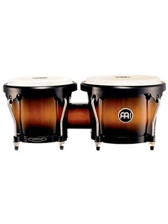Meinl - Headliner® Series Wood Bongos (Vintage Sunburst Finish) Instruments | Drums