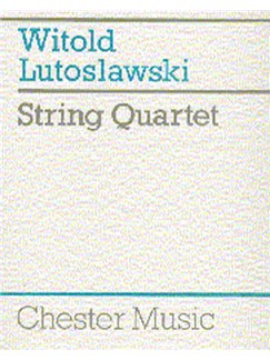 Witold Lutoslawski: String Quartet Books | String Quartet