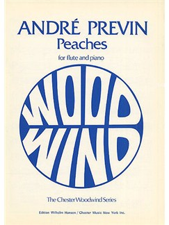 Andre Previn: Peaches Books | Flute, Piano Accompaniment