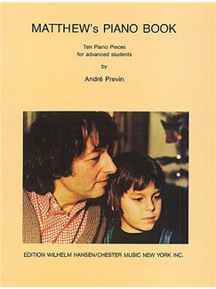 Andre Previn: Matthew's Piano Book Books | Piano