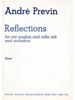 Andre Previn: Reflections (Full Score) Books | Cor Anglais, Cello, Orchestra