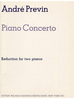 Andre Previn: Piano Concerto (Reduction For Two Pianos) Books | Two Pianos