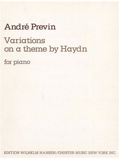 Previn Haydn Variations Piano Books | Piano