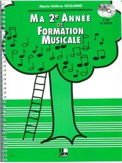 Marie-Hélène Siciliano: Ma Deuxième Année De Formation Musicale Books | All Instruments