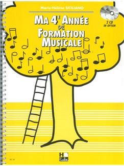 Marie-Hélène Siciliano: Ma Quatrième Année De Formation Musicale Books | Tous Les Instruments