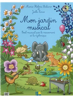 Marie-Hélène Siciliano: Mon Jardin Musical Books and CDs | All Instruments