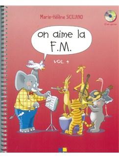 Marie-Hélène Siciliano: On Aime La F.M. - Quatrième Année (Book) Books | All Instruments