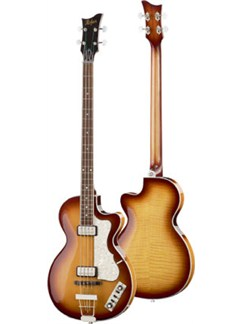 Hofner: Contemporary Series Club Bass - Sunburst Instruments | Bass Guitar