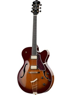 Hofner: J17-E Electric Jazz Guitar - Sunburst Instruments | Electric Guitar