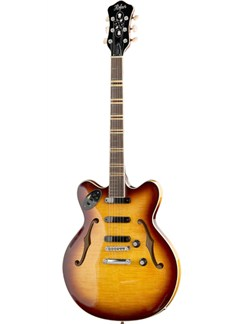 Hofner: HTC-VTH3 Verythin3 Semi Acoustic Guitar - Sunburst Instruments | Semi-Acoustic Guitar