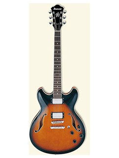 Ibanez: AS73 Artcore Semi-Acoustic Guitar (Brown Sunburst) Instruments | Semi-Acoustic Guitar