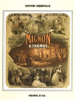 Ambroise Thomas: Mignon (Vocal Score) Books | Opera