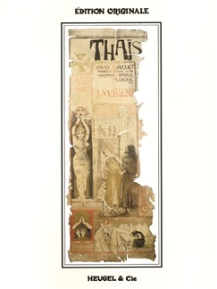Jules Massenet: Thaïs (Vocal Score) Books | Opera