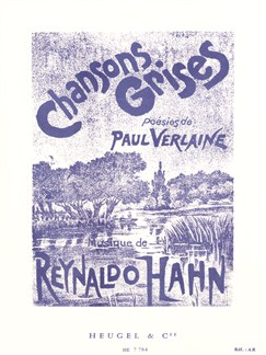 Reynaldo Hahn: Chansons Grises Books | Voice, Piano Accompaniment