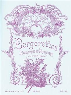 Jean Baptiste Weckerlin: Bergerettes (Romances Et Chansons Du XVIIIe Siècle) Books | Voice