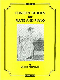 Cecilia McDowall: Three Concert Studies Books | Flute