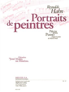 Reynaldo Hahn: Portraits De Peintres (Piano) Books | Piano