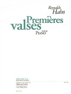 Hahn: Premières Valses Pour Piano Books | Piano