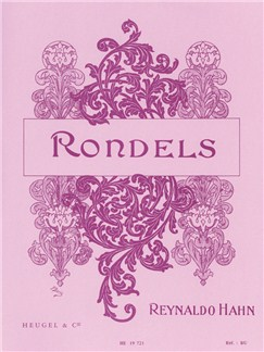 Reynaldo Hahn: Rondels (SATB/Piano) Books | Medium Voice