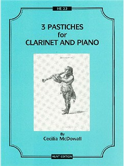 Cecilia McDowall: Three Pastiches For Clarinet And Piano Books | Clarinet, Piano Accompaniment