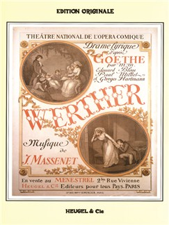 Jules Massenet: Werther (Vocal Score) Books | Opera