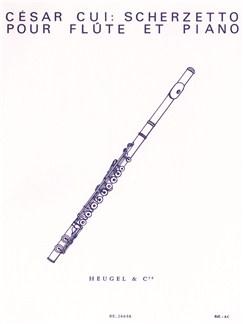 César Cui: Scherzetto Books | Flute