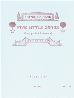 Reynaldo Hahn: Five Little Songs (Voice And Piano) Books | Voice, Piano Accompaniment