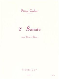Philippe Gaubert: Sonata For Flute And Piano No.2 Books | Flute, Piano Accompaniment