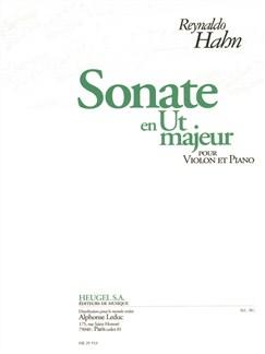 Reynaldo Hahn: Sonata In C Major (Violin/Piano) Books | Violin