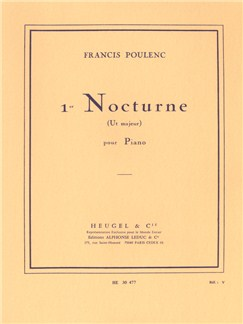 Francis Poulenc: Nocturne No.1 In C Books | Piano