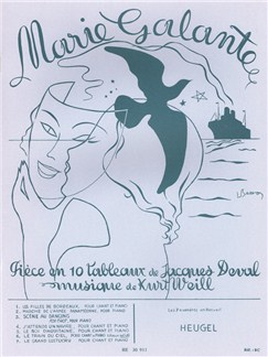 Kurt Weill/Jacques Deval: Marie Galante Books | Voice