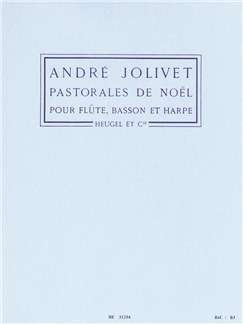 André Jolivet: Pastoreles De Noël (Flute, Bassoon, Harp) Books | Bassoon
