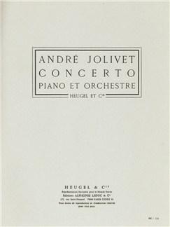 André Jolivet: Concerto (Pianos 2) Books | Piano
