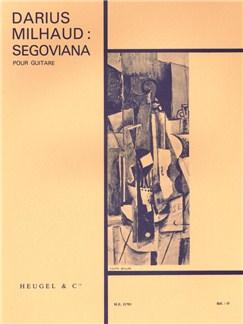 Darius Milhaud: Segoviana Op.366 (Guitar) Books | Guitar