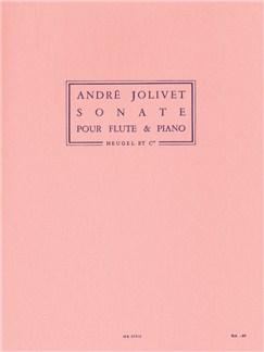 André Jolivet: Sonate (Flute & Piano) Books | Flute