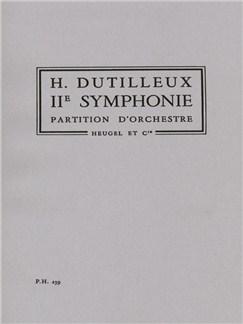 Henri Dutilleux: 2ème Symphonie Books | Orchestra