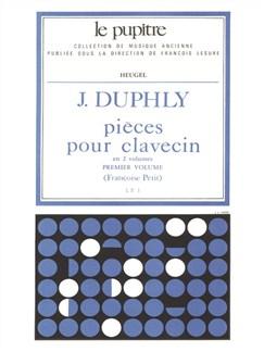 Duphly: Pièces Pour Clavecin Livres 1 Et 2 (Lp1 Volume 1) Books | Harpsichord