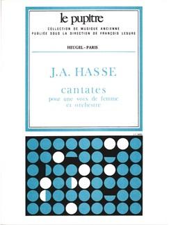 Hansell: Cantates Pour Une Voix De Femme Et Orchestre Partition (Lp11) Books | Voice