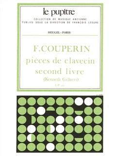 François Couperin: Pièces De Clavecin Vol.2 (Gilbert) Books | Harpsichord