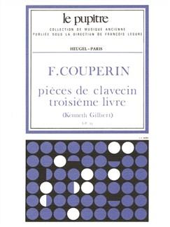 Couperin F: Pièces De Clavecin Livre 3 (Lp23) Books | Harpsichord