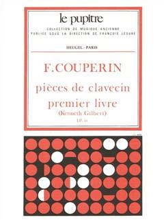 François Couperin: Pièces De Clavecin Vol.1 Books | Harpsichord