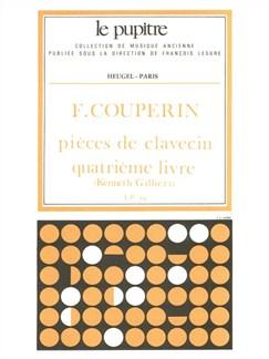 François Couperin: Pièces De Clavecin Vol.4 (Lp24) (Harpsichord Solo) Books | Harpsichord